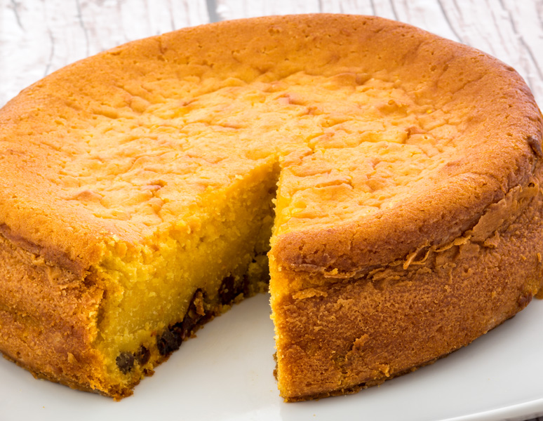 Torta de auyama tradicional