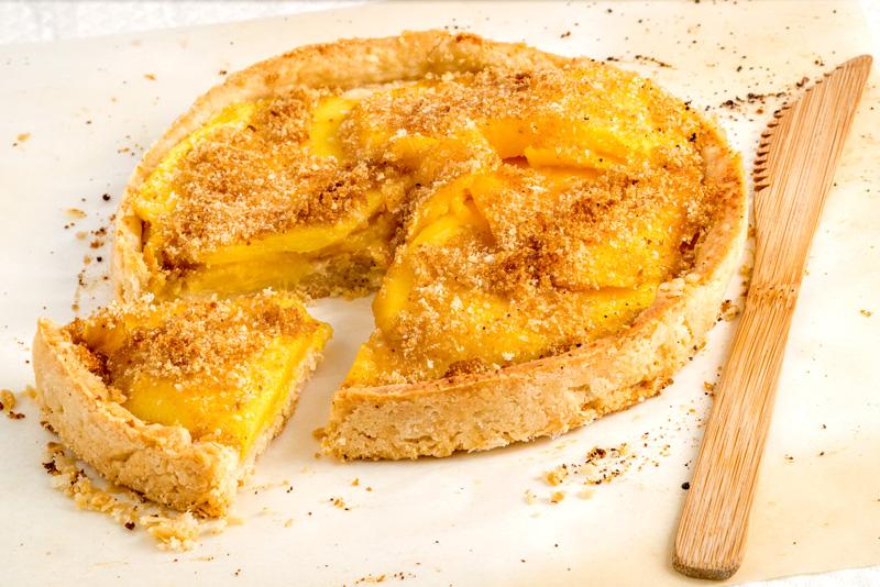Pie de mango
