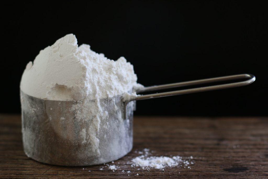 Como medir la harina