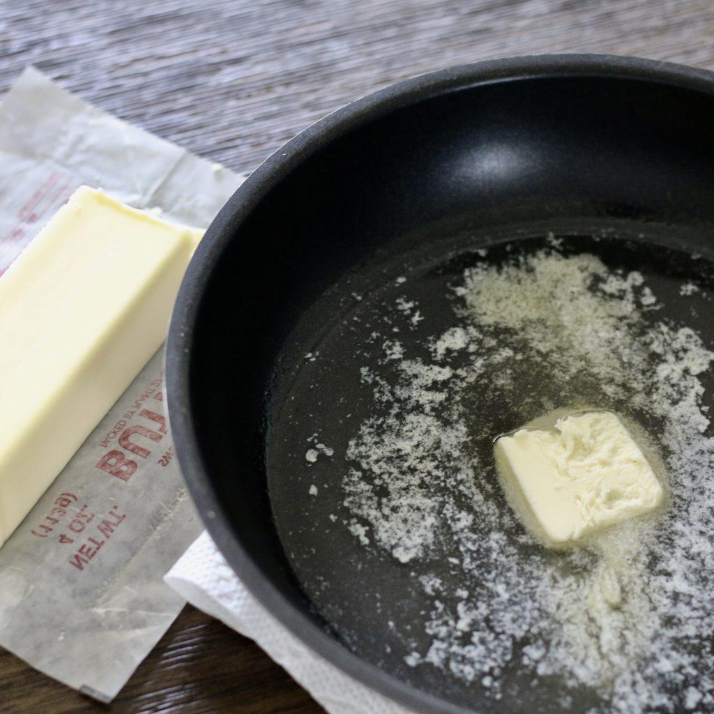 mantequilla y aceite